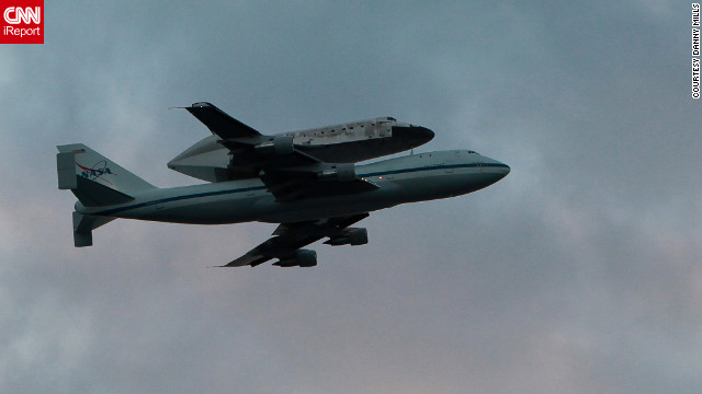Overheard on CNN.com: 'This was my space shuttle moment,' reader says of Discovery