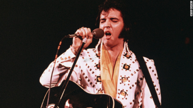Plans in place to create Elvis hologram
