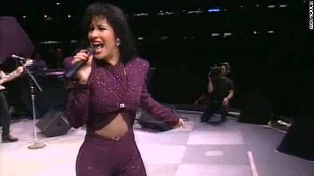 Latin chart-topper Selena was killed in 1995. A film based on the 23-year-old performer's life and death starring Jennifer Lopez was released in 1997.