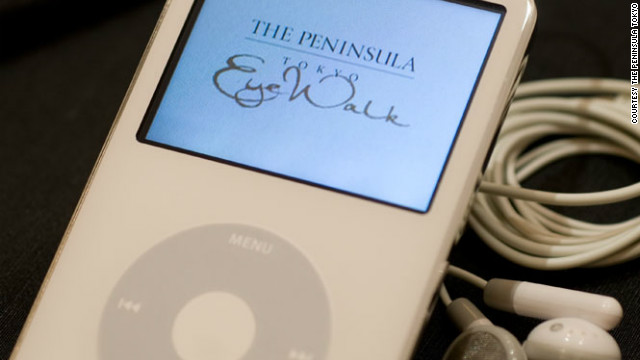 The Peninsula Tokyo offers guided iPod tours of the hotel's art collection and surrounding neighborhoods.