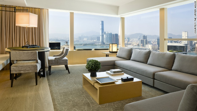 The Upper House, in Hong Kong, adopts a &quot;paperless&quot; approach to check-in, and offers guests wireless internet connectivity from the moment they step inside the car that brings them from the airport.