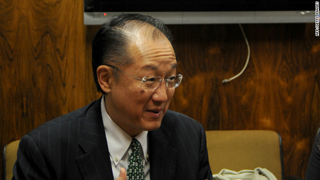 New boss at World Bank