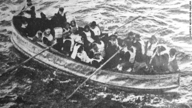 The 706 survivors of the tragedy, including Williams and Behr, took refuge in 20 collapsible lifeboats.