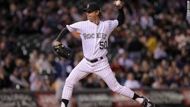 Rockies Moyer, 49, becomes oldest pitcher to win game