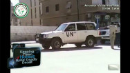 Despite U.N. presence, violence continues in Syria