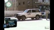 Despite U.N. presence, violence continues in Syria