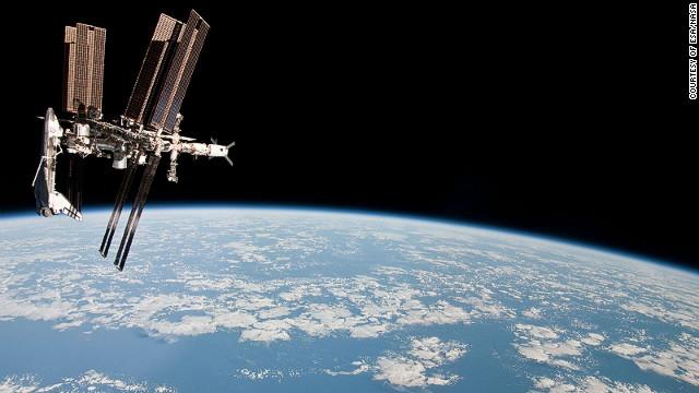 La Tierra vista a través de los ojos de un astronauta