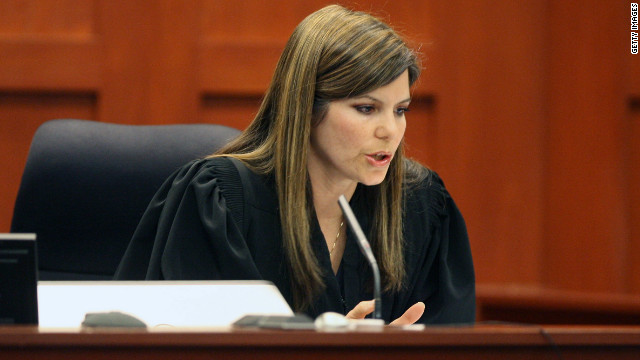 Judge disqualifies herself from George Zimmerman case