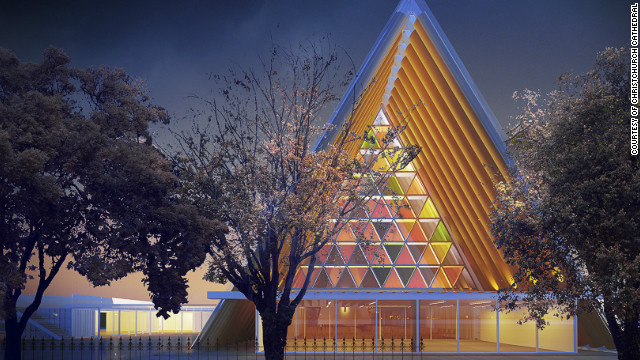 A new temporary cathedral has been given the go-ahead in Christchurch, New Zealand. The 700-seat facility incorporates cardboard tubes with timber beams, steal and a concrete base. It has been designed by Japanese architect, Shigeru Ban and will be completed by the end of 2012.