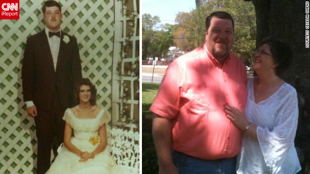 """After 30 years, my prom date and I have reunited and were married just three weeks ago,"" Cecelia Owens said. ""We had dated for a year during high school, but had not seen each other since then. We began dating again and we found the spark was still there."""
