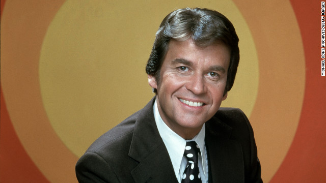 "Television host <a href='http://www.cnn.com/2012/04/18/showbiz/dick-clark-obit/index.html' target='_blank'>Dick Clark</a> poses for a portrait circa 1968. The longtime host of the influential ""American Bandstand"" died April 18 after suffering a heart attack. He was 82."