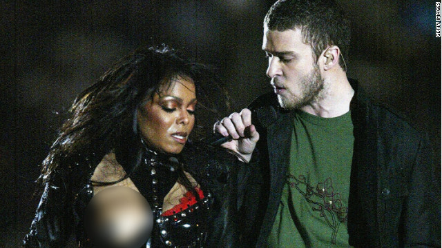 Janet Jackson experiences a 