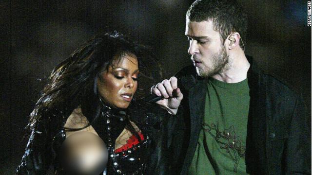 Janet Jackson experiences a