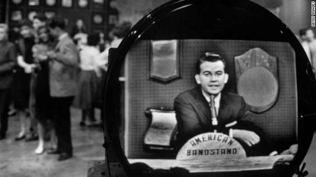 "Clark on ""American Bandstand."""