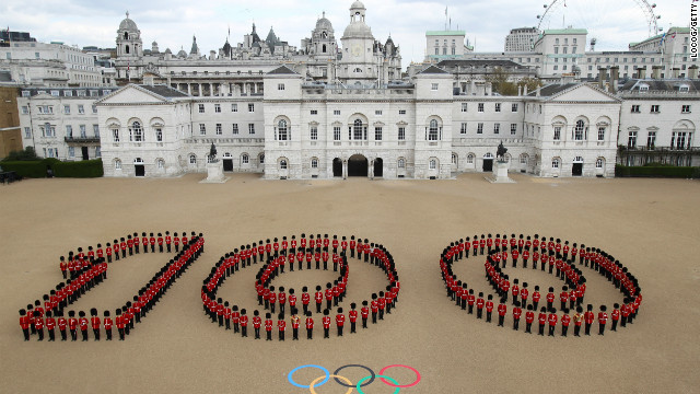 London 2012 Olympics: 100 days to go