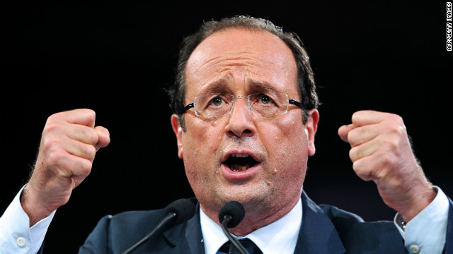 French Socialist presidential candidate Francois Hollande has even admitted a personal weakness for hamburgers.
