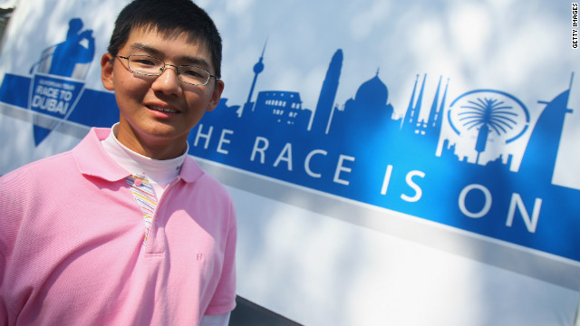 Guan will seek to better the achievement of Jason Hak, who was 14 when he became the youngest player to make the halfway cut at a European Tour event at the 2008 Hong Kong Open.