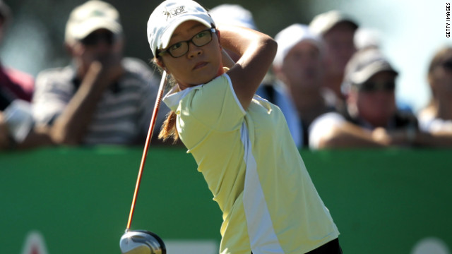New Zealand's Lydia Ko is the youngest player to win a professional event. She was just 14 when she triumphed at the the New South Wales Open in January 2012, having entered as the world's leading female amateur.