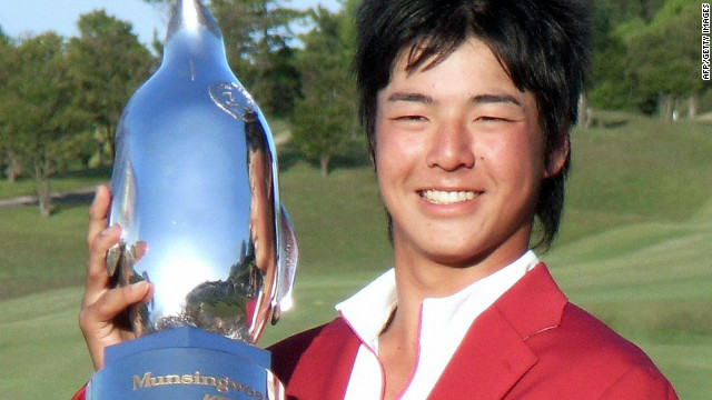 Japan's Ryo Ishikawa was the youngest male player to win a professional tournament, until he was usurped by 14-year old Pachara Khongwatmai last year. Ishikawa was 15 when he triumphed at the Munsingwear Open in 2007 and has since gone on to become a top-level tour competitor.