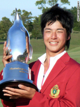 Japan's Ryo Ishikawa is the youngest male player to win a professional tournament. He was 15 when he triumphed at the Munsingwear Open in 2007, and has since gone on to become a top-level tour competitor.
