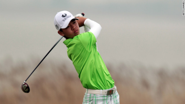 Manassero was also the youngest player ever to make the cut at the Masters, aged 16 in 2010, only to see that record fall to China's Guan Tianlang, who was 14 at the 2013 event.