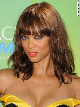 It's Tyra Banks!