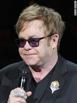 It's Elton John!