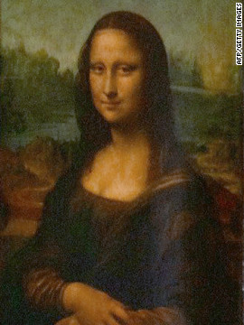 It's the Mona Lisa!