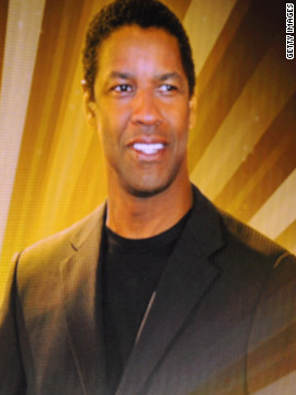 It's Denzel Washington!