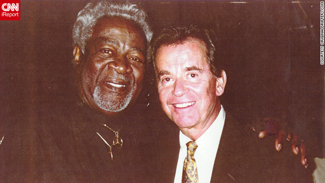 "Friends of Dick Clark, who died Tuesday at age 82, shared photos they took with him over the years. The Drifters were one of the first African-American groups to be featured on Clarks' show ""American Bandstand,"" in its early days in Philadelphia. Late band member Bill Pinkney posed with Clark in 1997 at the 45th anniversary celebration for the show. As his legal steward Maxine Porter put it, ""He was just pleased to be in attendance as one of the very earliest artists before going national."""