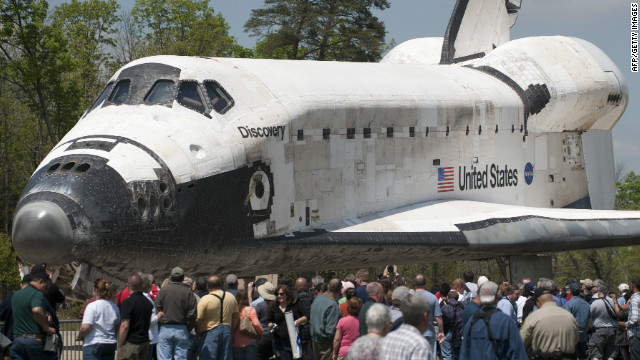 What Space Shuttle Discovery has inspired in us