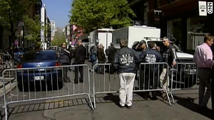 Investigators cordon off a street in SoHo on Thursday as part of the investigation into Etan Patz\'s disappearance.