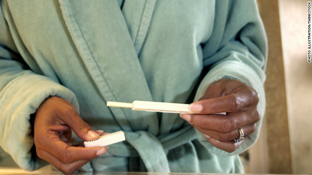 Home pregnancy tests may detect men's cancer