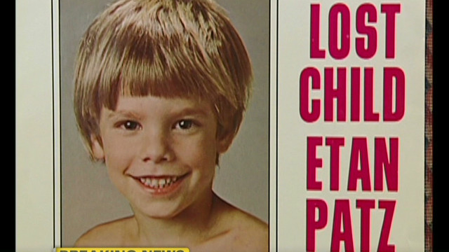 Etan Patz disappeared in May 1979.