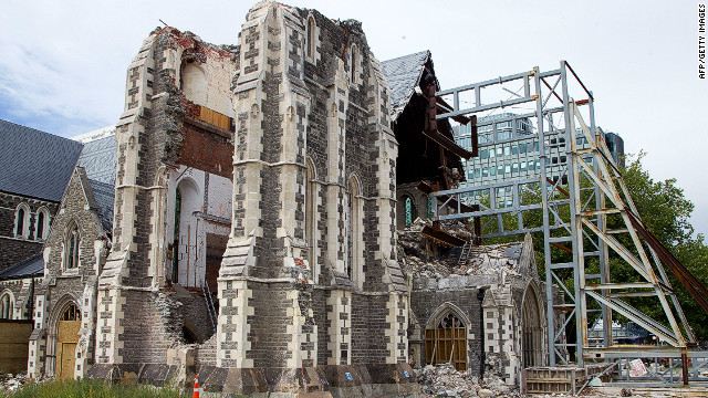 The destruction of Christchurch Cathedral became a symbol of the city's devastation when an earthquake hit the city in February 2011.