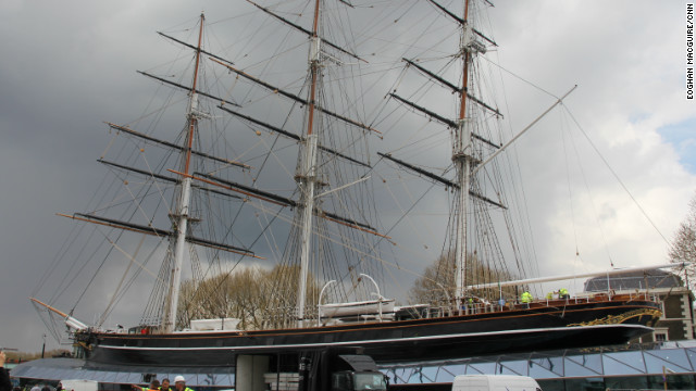 The Cutty Sark Trust hope the restored vessel will attract upwards of 300,000 visitors a year.