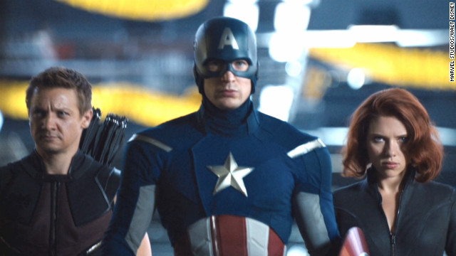 Marvel's &quot;The Avengers&quot; was the top-grossing film of 2012 and continues the success of the Marvel universe on the big screen.
