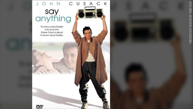 "Naturally, the cassette became prominent in popular culture. It played a key role in such movies as ""Wayne's World"" (where it played ""Bohemian Rhapsody"" in the car); ""Sneakers"" (as a voice ID); and, of course, ""Say Anything,"" where John Cusack's boombox will play Peter Gabriel's ""In Your Eyes"" forever."