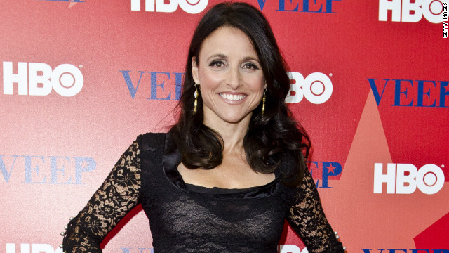 Julia Louis-Dreyfus on playing the 'Veep'