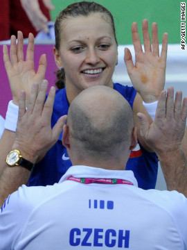 Petra Kvitova, the 2011 Wimbledon champion, will play a big role in the Czech Republic's defense of their Fed Cup title against Italy in the other semifinal. The world No. 3 is hoping for a return to form after injury and illness plagued her last two months.