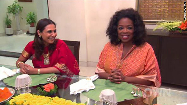 'Oprah's Next Chapter' travels to India