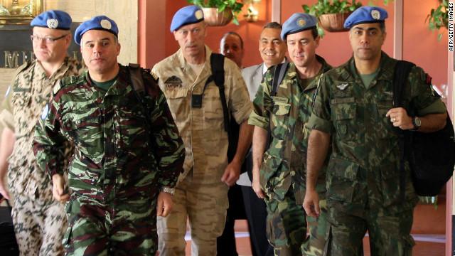 Observadores de la ONU llegan a Homs para supervisar el cese al fuego