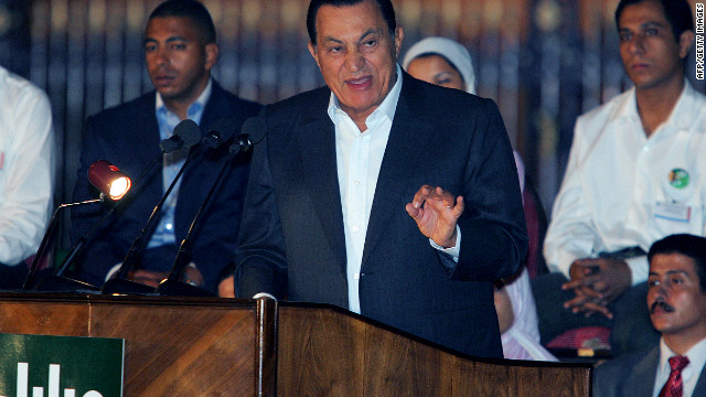 In 2005, Mubarak again runs for a six-year term in the country's first multiparty presidential election. He was declared the official winner with about 88% of the vote, but many considered the election to be a sham.