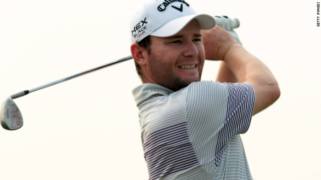 Branden Grace kept his nerve to win the Volvo China Open for his third win of the year.