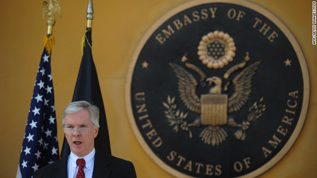 Ambassador Crocker to step down from Afghan post