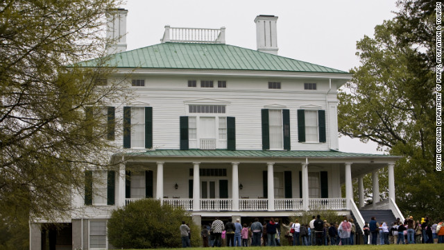 Redcliffe Plantation State Historic Site in Beech Island, South Carolina, was home to generations of slaveholders and slave families. The plantation hosts a descendents weekend in late July.