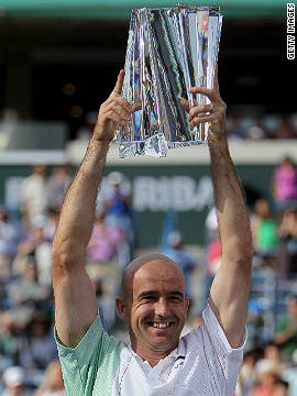 Two seasons ago, a 31-year-old Ljubicic defied critics and age to triumph at the prestigious Indian Wells Masters tournment in California. The win made him the oldest first-time winner of an ATP Masters 1000 event.