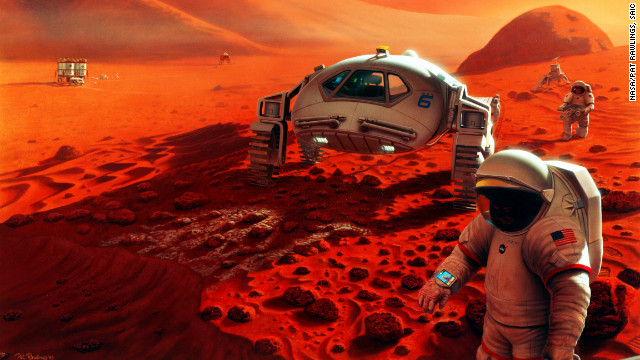 Why we shouldn't wait to go to Mars