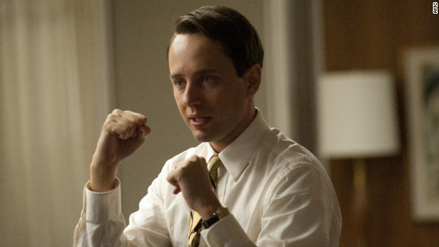 Vincent Kartheiser plays Pete Campbell in a scene from the April 15