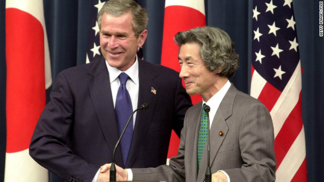 George W. Bush had his own Japan-related gaffe in 2002 when he said that he and then-Prime Minister Junichiro Koizumi had discussed devaluing the Japanese yen -- an announcement that caused a brief panic for world markets.